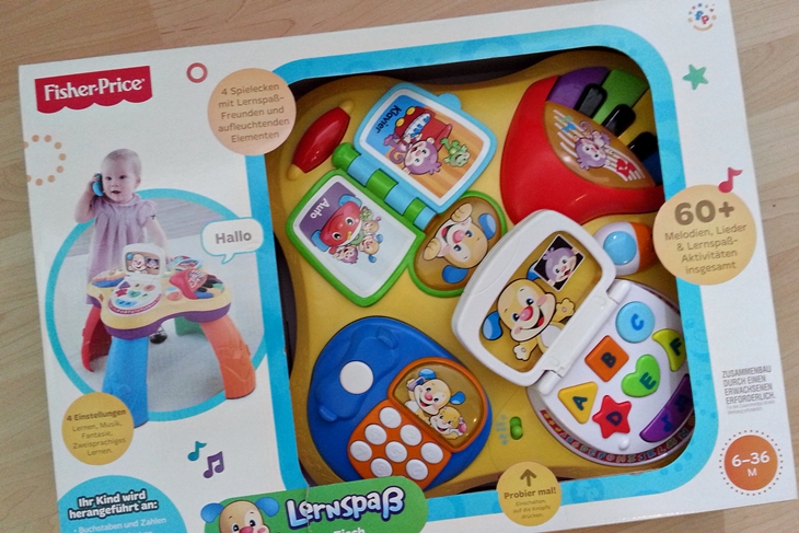 Fisher Price Learning Table box